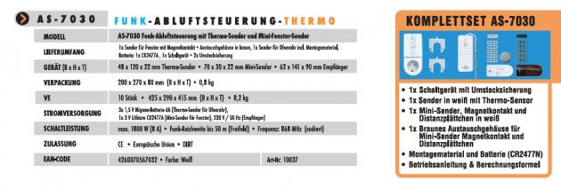 Funk-Abluftsteuerung AS-7030